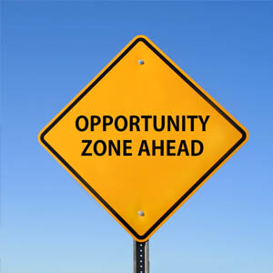 opportunity zone ahead