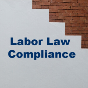 Labor Law Compliance May 26