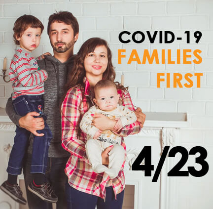 COVID 19 families first act 4-23