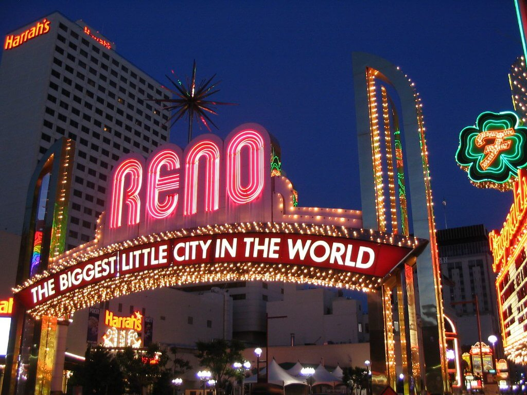 Neon lights: Reno, the biggest little city in the world