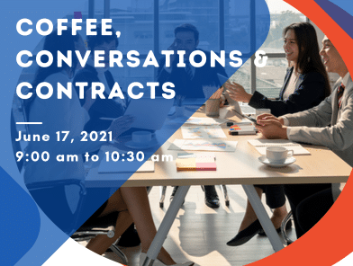 Coffee, Conversations & Contracts